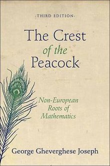 Cover page of the book The Crest of the Peacock - Non-European Roots of Mathematics.jpg