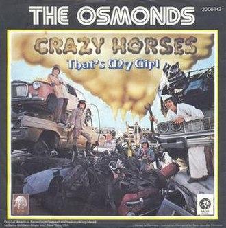 Crazy Horses - Image: Crazyhorsesmgmsingle