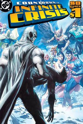 Countdown to Infinite Crisis - Cover to DC Countdown. Art by Jim Lee and Alex Ross.