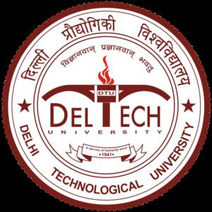 Delhi Technological University - Seal of the Delhi Technological University