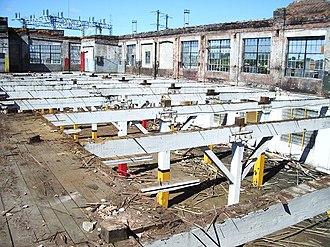 Deconstruction (building) - Deconstruction of a building.