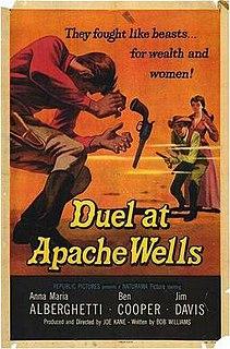 <i>Duel at Apache Wells</i> 1957 film by Joseph Kane