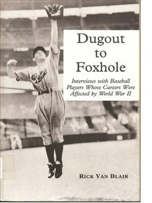Dugout to Foxhole - Image: Dugout To Foxhole Book Cover