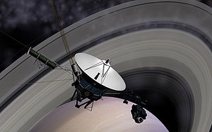 1980 in spaceflight - Voyager 1 flew past Saturn on 12 November