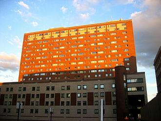 East Campus (Columbia University) -  East Campus' western facade