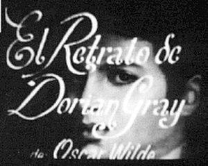 El retrato de Dorian Gray - Image: El retrato de Dorian
