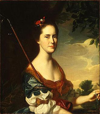 Samuel Allyne Otis - Elizabeth Gray Otis, wife of Samuel Allyne Otis