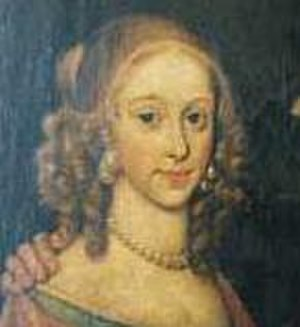 Thomas Nash - Portrait of Elizabeth Hall, Thomas Nash's wife