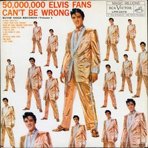 50,000,000 Elvis Fans Can't Be Wrong - Image: Elvis' Gold Records, Vol. 2 original LP cover