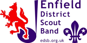 Girlguiding London and South East England - Image: Enfield District Scout Band