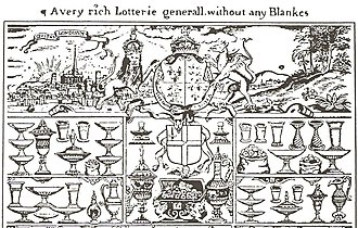 Lottery - Image: English Lottery 1567 001