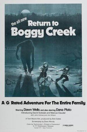 Return to Boggy Creek - Theatrical release poster