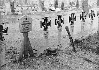 Battle of the Grebbeberg - German dead.