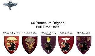 Full Time Units 44 Parachute Brigade
