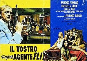 Il vostro super agente Flit - Original film poster