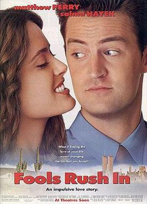 Fools Rush In (1997 film) - Theatrical release poster