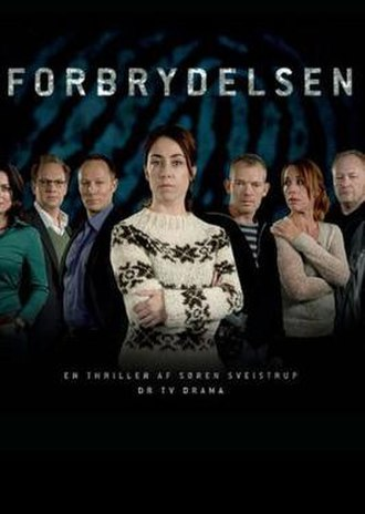 The Killing (Danish TV series) - Series 1 Danish poster