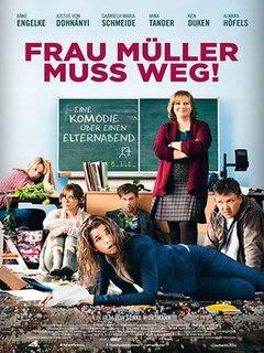 <i>Frau Müller muss weg!</i> 2015 film directed by Sönke Wortmann