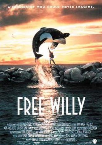 Free Willy - Theatrical release poster