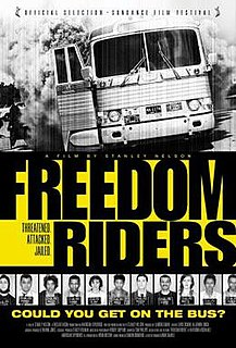 <i>Freedom Riders</i> (film) 2010 film by Stanley Nelson Jr.