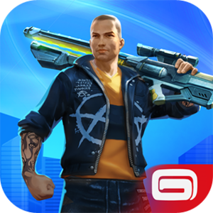 Gangstar Vegas - Christmas 2015 app icon on iTunes