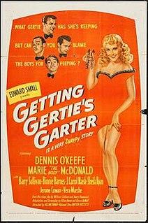 <i>Getting Gerties Garter</i> 1945 film by Allan Dwan