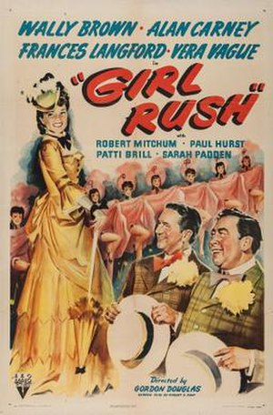 Girl Rush - Theatrical release poster