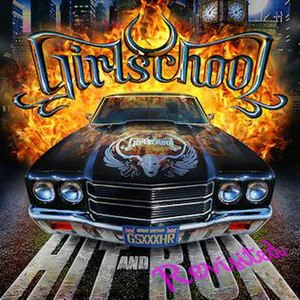 Hit and Run – Revisited - Image: Girlschool hit and run revisited