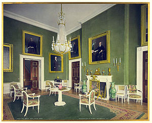 Green Room (White House) - McKim, Mead, and White renovation of the Green Room in 1904 during the administration of Theodore Roosevelt.