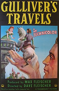 <i>Gullivers Travels</i> (1939 film) 1939 film by Max Fleischer, Dave Fleischer, Willard Bowsky