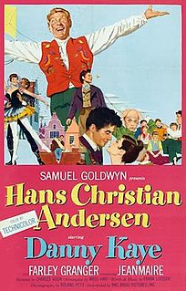 <i>Hans Christian Andersen</i> (film) 1952 film by Charles Vidor