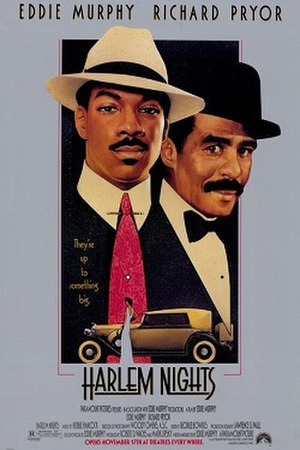 Harlem Nights - Promotional poster