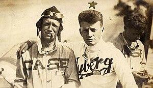 Bill Endicott - Endicott (left) with brother Harry, circa 1913