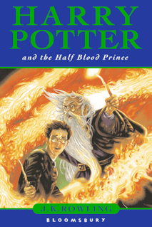<i>Harry Potter and the Half-Blood Prince</i> 2005 fantasy novel by J. K. Rowling