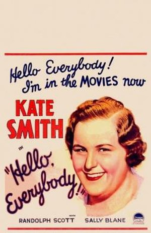 Hello, Everybody! - Theatrical release poster
