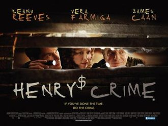 Henry's Crime - British release poster