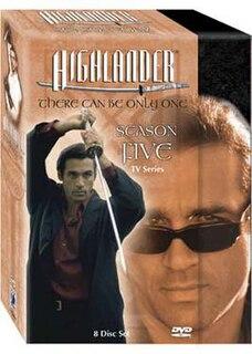<i>Highlander: The Series</i> (season 5) season of television series