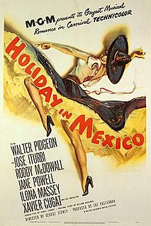 <i>Holiday in Mexico</i> 1946 film by George Sidney