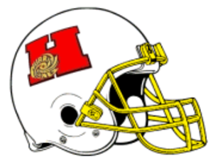 Honolulu Hurricanes - 1998 PIFL Honolulu Hurricanes home games helmet design