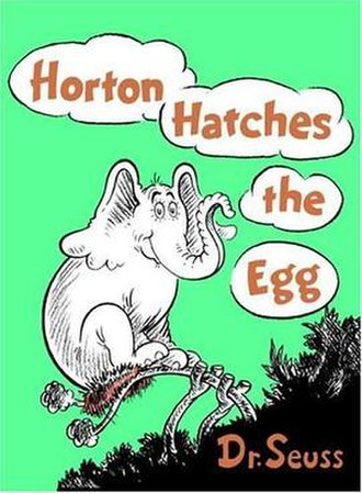 Horton Hatches the Egg - Image: Horton hatches the egg