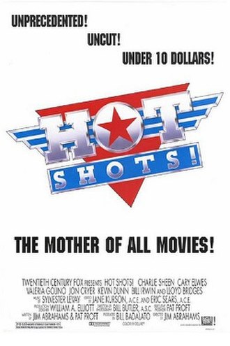 Hot Shots! - Theatrical release poster