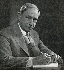 Gernsback portrait by Fabian, date unknown