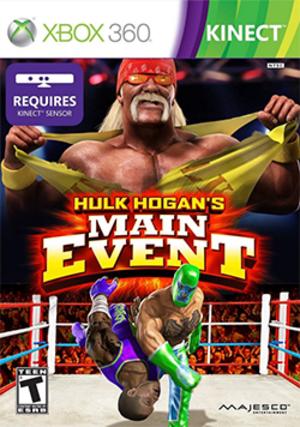 Hulk Hogan's Main Event - Image: Hulk Hogan's Main Event Coverart