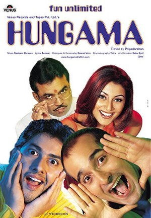 Hungama - Theatrical release poster