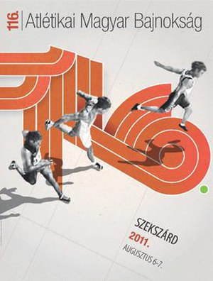 2011 Hungarian Athletics Championships - Image: Hungarian Athletics Championships logo 2011