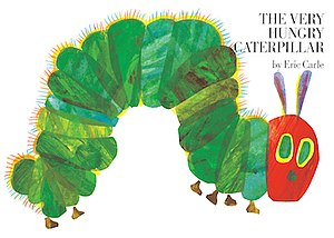 The Very Hungry Caterpillar - Front cover illustration