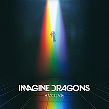 Image result for imagine dragons album cover evolve