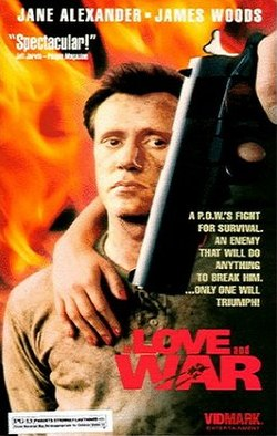 In Love and War 1987 film VHS cover James Woods.jpg