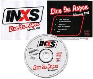 INXS: Live in Aspen – February 1997 - Image: Inxs Live In Aspen Feb 97
