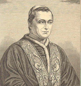 Pope Pius IX - An 1846 sketch of Pope Pius IX soon after his election to the papacy